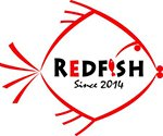 Redfish fish, chips and grill